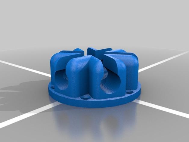 基于阿基米德定理的迷你圆规 3D模型  图4