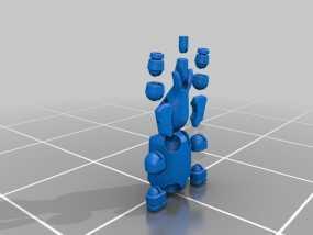 球形大象模型 3D模型