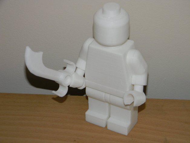 短弯刀模型 3D模型  图1
