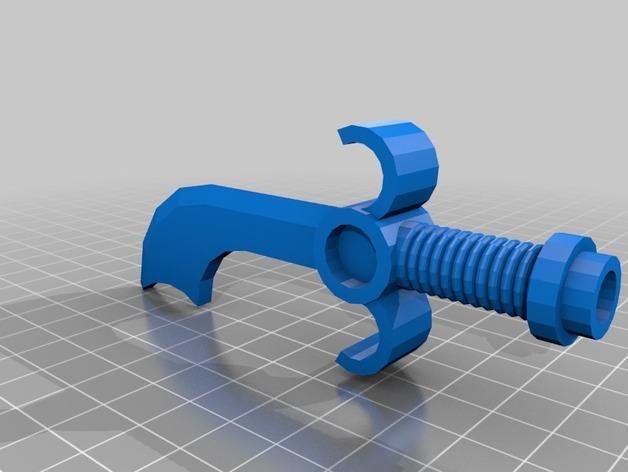 短弯刀模型 3D模型  图2