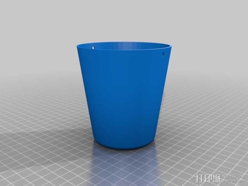 迷你水桶模型 3D模型  图2