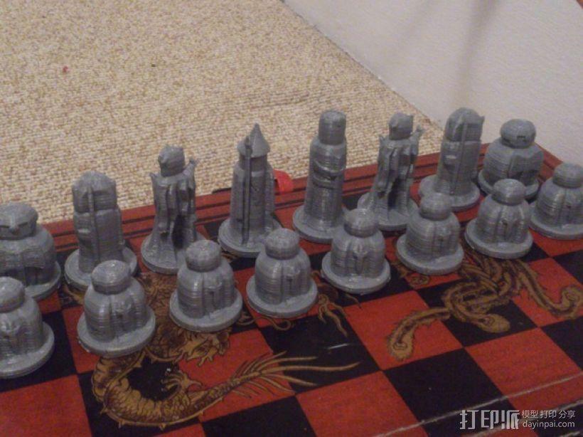 国际象棋棋子 3D模型  图3