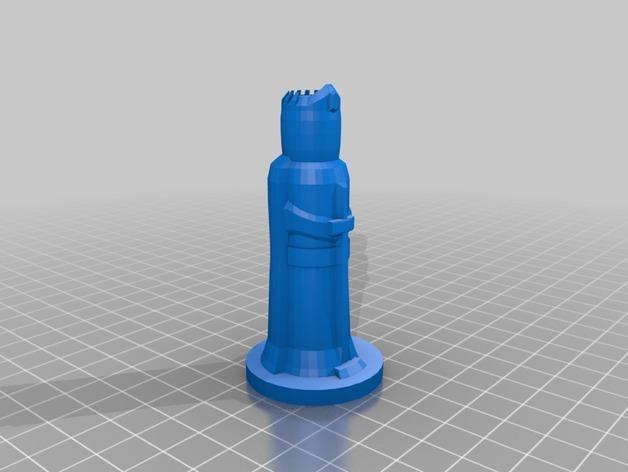 国际象棋棋子 3D模型  图4