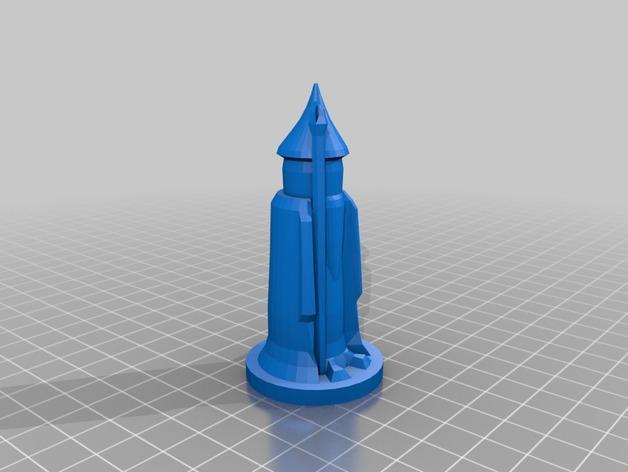 国际象棋棋子 3D模型  图5