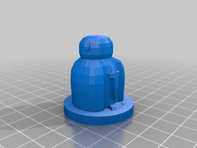 国际象棋棋子 3D模型  图7