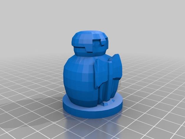 国际象棋棋子 3D模型  图9