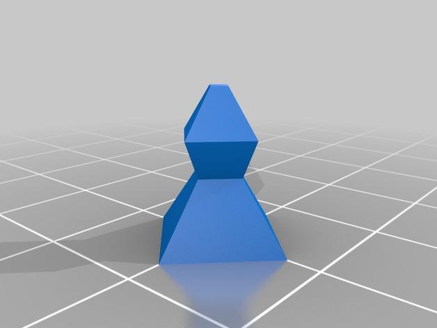 抽象化的象棋棋子 3D模型  图3