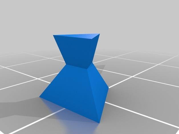 抽象化的象棋棋子 3D模型  图2