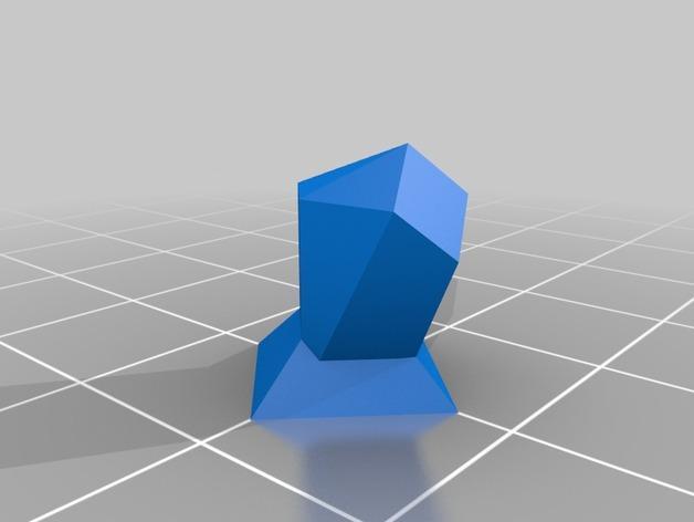 抽象化的象棋棋子 3D模型  图4