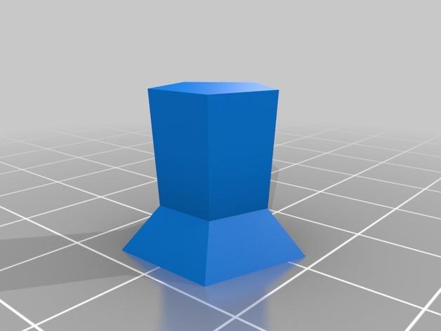 抽象化的象棋棋子 3D模型  图7