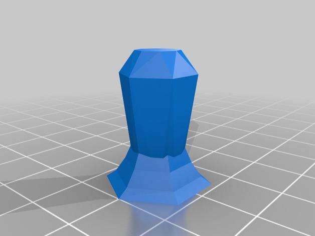 抽象化的象棋棋子 3D模型  图6