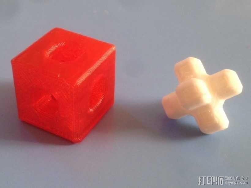 基于Menger定理的魔方 3D模型  图1