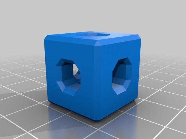 基于Menger定理的魔方 3D模型  图4