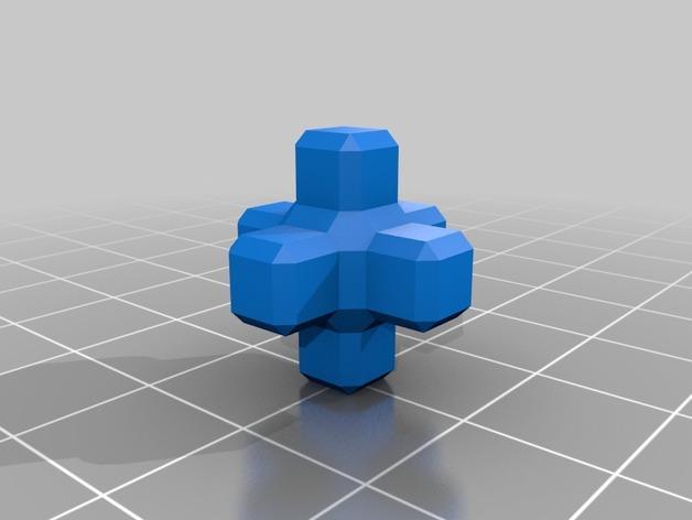 基于Menger定理的魔方 3D模型  图3