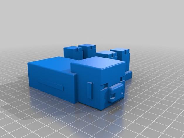 游戏《Minecraft》中小猪玩偶模型 3D模型  图2