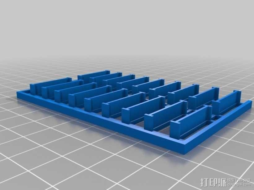 迷你托盘模型 3D模型  图1
