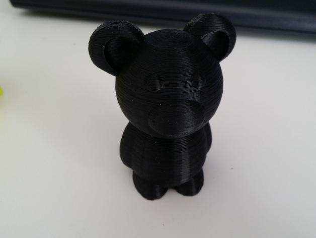 小熊玩偶 3D模型  图4