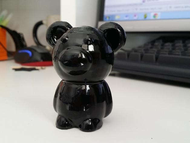 小熊玩偶 3D模型  图3