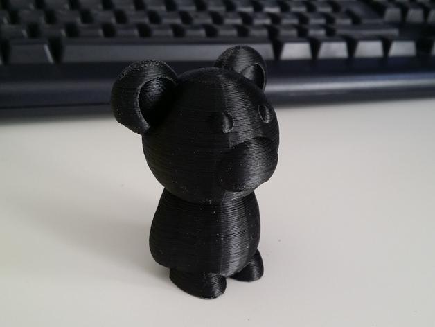 小熊玩偶 3D模型  图5