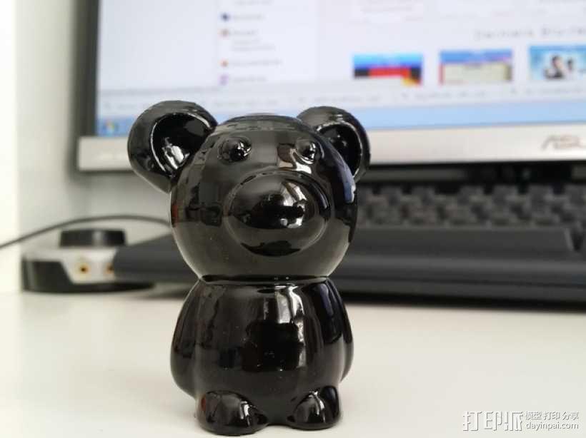 小熊玩偶 3D模型  图8