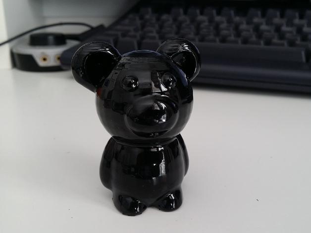 小熊玩偶 3D模型  图7