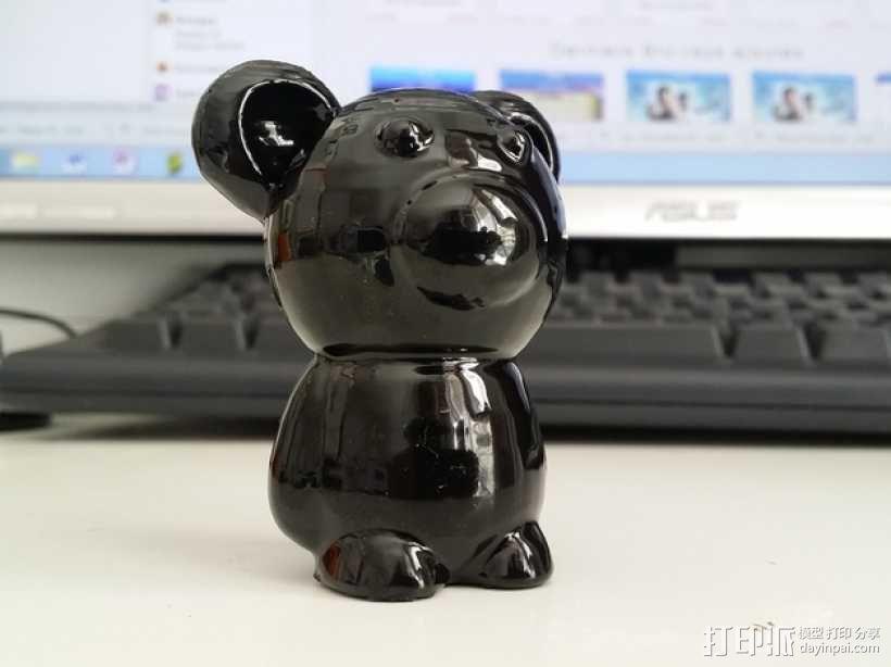 小熊玩偶 3D模型  图9