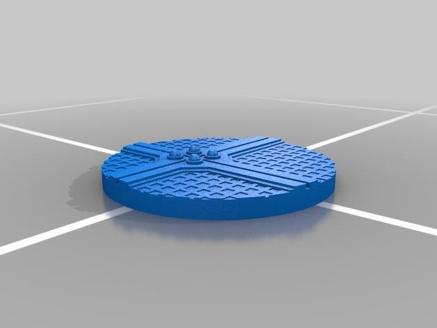 战争游戏的基地模型 3D模型  图2