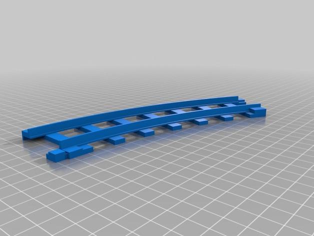 迷你火车轨道模型 3D模型  图2