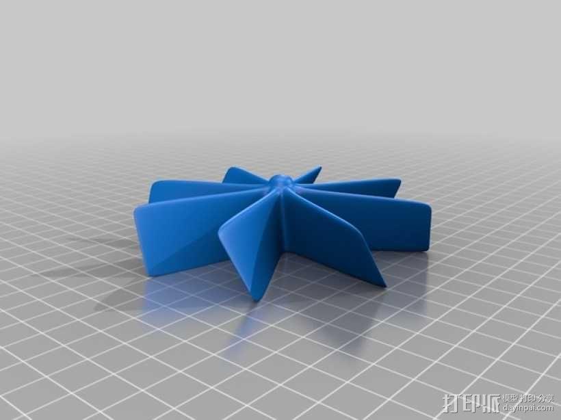 风力发电机模型 3D模型  图2