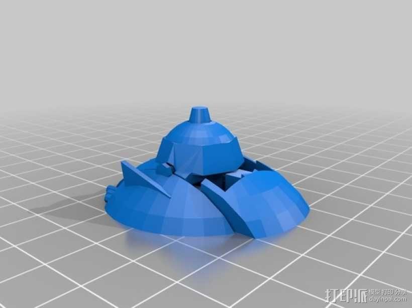 游戏《Astro Defender - Space》人物模型 3D模型  图2