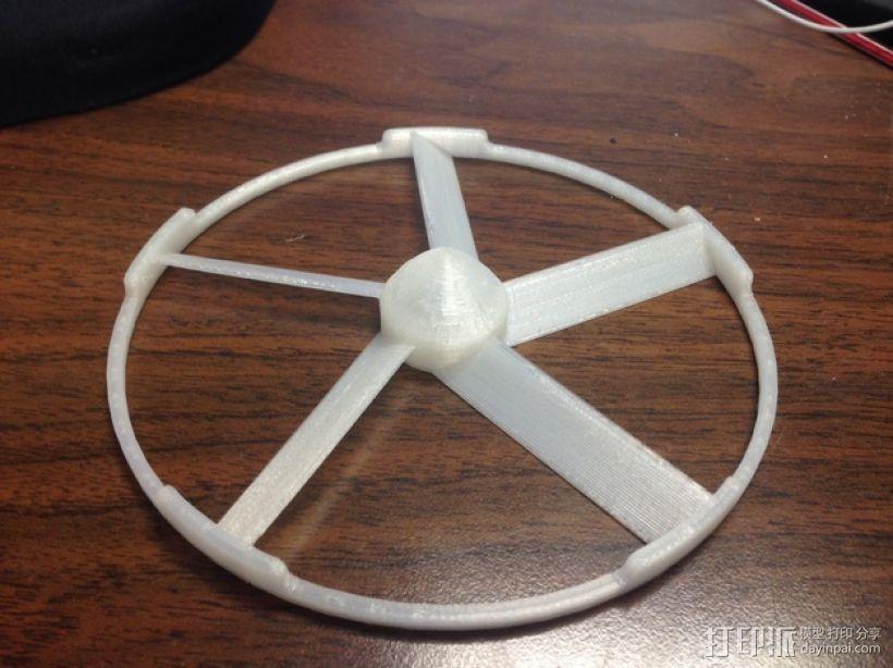 轻薄的火箭前锥体模型 3D模型  图1
