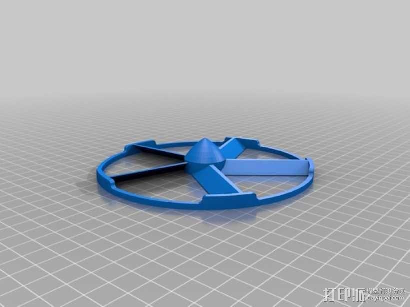 轻薄的火箭前锥体模型 3D模型  图2