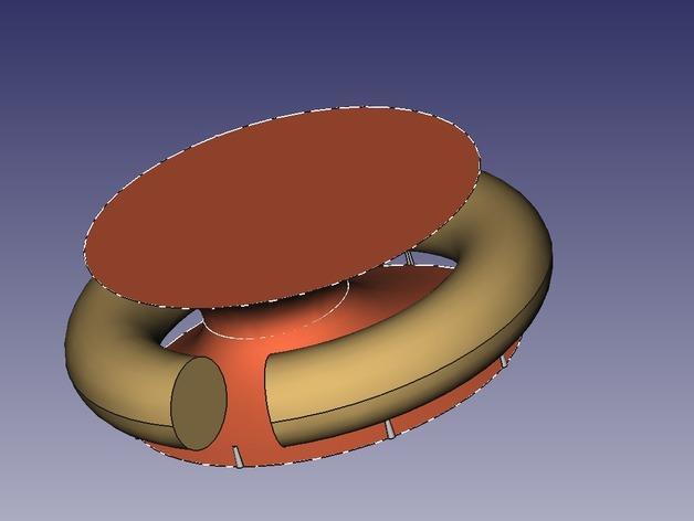 指环模型 3D模型  图1