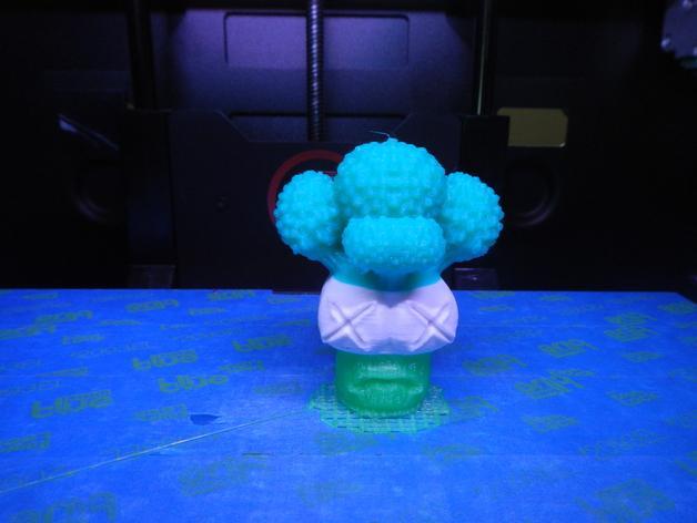迷你花椰菜造型 3D模型  图2