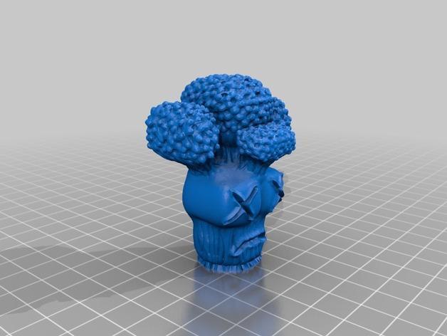 迷你花椰菜造型 3D模型  图4