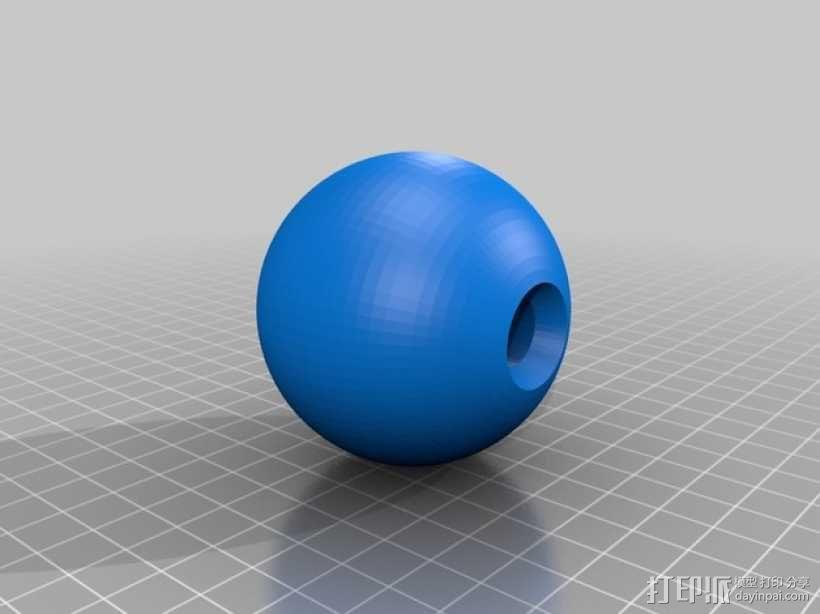 剑球剑玉模型 3D模型  图2