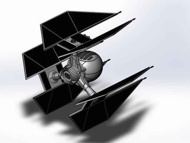钛防御机模型 3D模型  图6