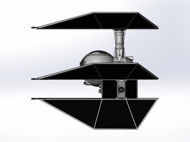 钛防御机模型 3D模型  图8