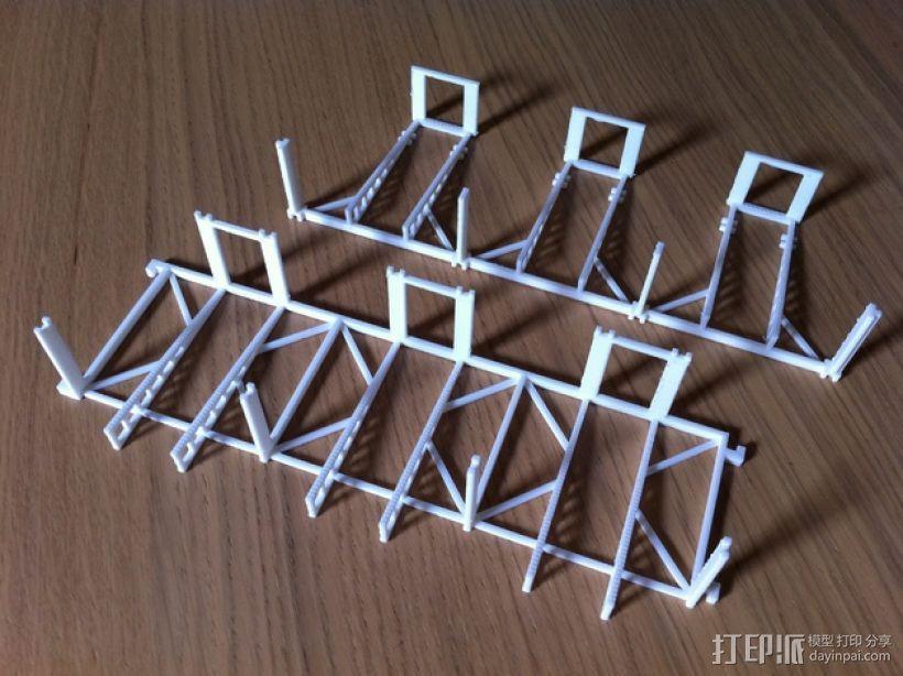 游戏牌卡架 3D模型  图4