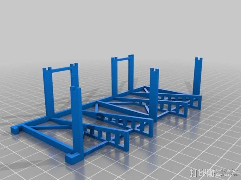 游戏牌卡架 3D模型  图7