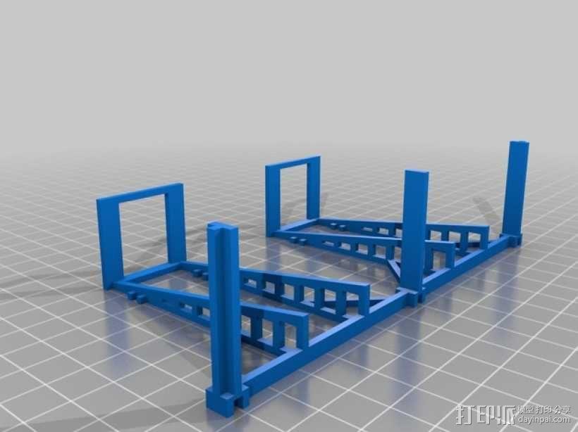 游戏牌卡架 3D模型  图8
