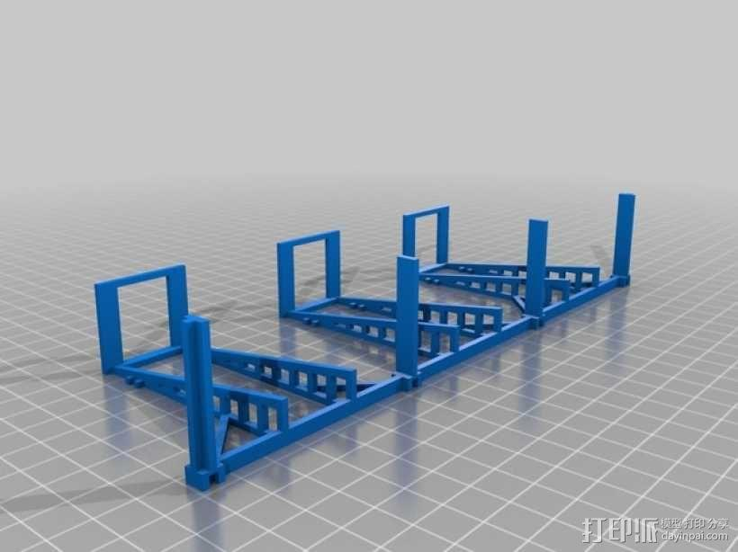 游戏牌卡架 3D模型  图10