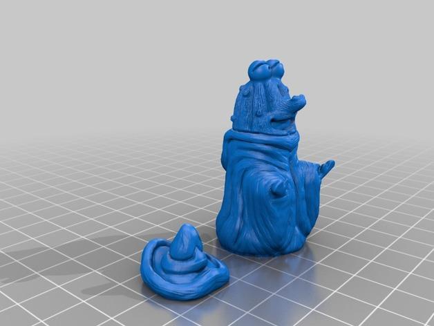 游戏《死灵法师》玩偶 3D模型  图3