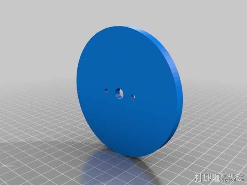 漩涡口哨模型 3D模型  图2