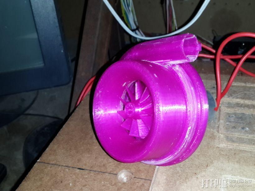 漩涡口哨模型 3D模型  图1