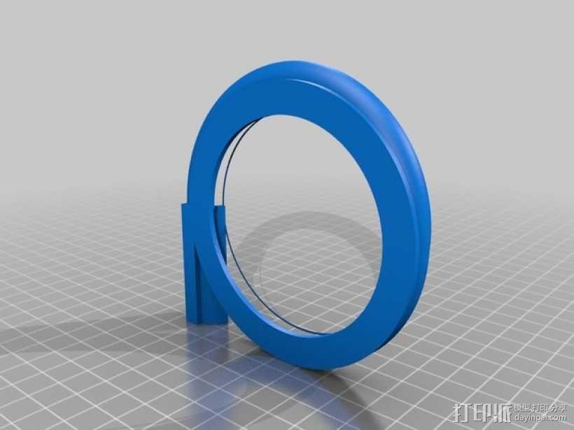 漩涡口哨模型 3D模型  图3