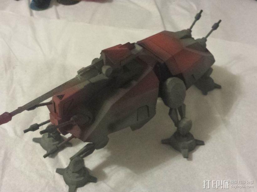 游戏《克隆战争》中的步行机 3D模型  图1