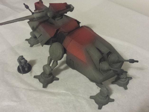 游戏《克隆战争》中的步行机 3D模型  图2