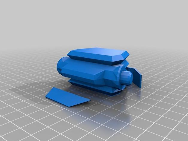 游戏《克隆战争》中的步行机 3D模型  图7