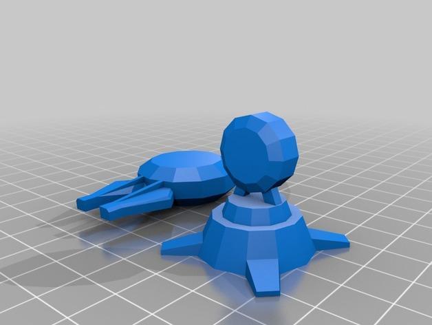 游戏《克隆战争》中的步行机 3D模型  图9